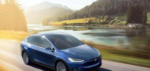 Tesla Motors наконец-то презентовала свой первый кроссовер Model X