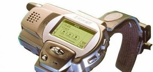 Свои первые «умные часы» Samsung выпустила еще в 1999 году