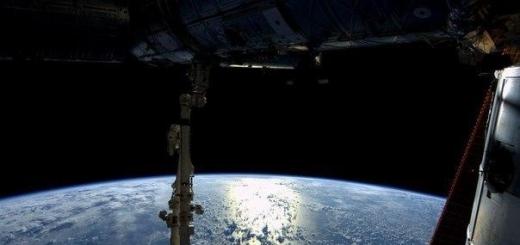 Снимки с Международной космической станции.