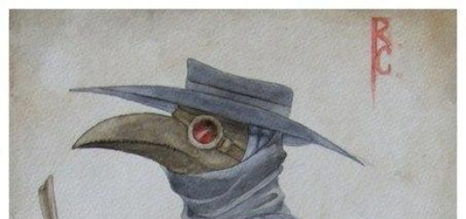 Почему врачи во время бубонной чумы носили такую странную одежду?