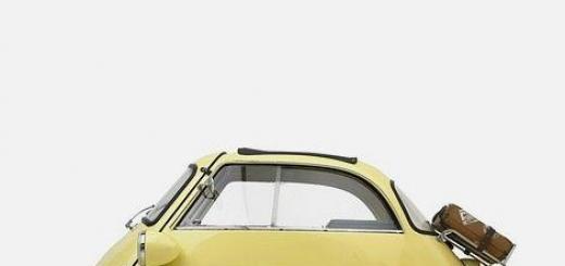 Микромобили 50-х: когда трех колес достаточно.