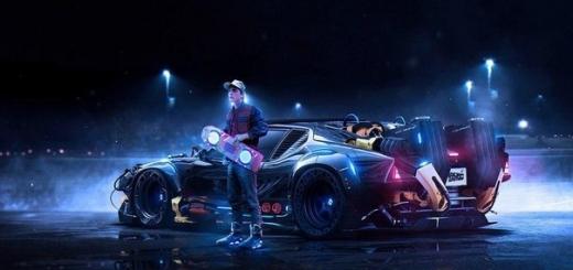 Back to the Future. Другая версия.