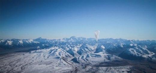 Google запатентовал метод управления воздушными шарами с интернетом