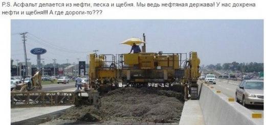 Как делают дороги в Чехии и Китае…