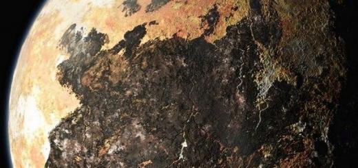 На Плутоне были реки и озера из жидкого азота