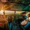 Завораживающий вид из кабины пилота