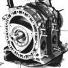 Роторный двигатель: принцип работы, недостатки и преимущества