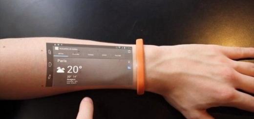 Браслет Cicret превратит руку в Android-смартфон
