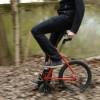 Компактный велосипед с необычной конструкцией