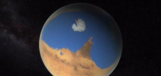 Найдена вода под поверхностью Марса
