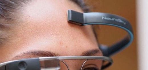 Google Glass теперь можно управлять силой мысли