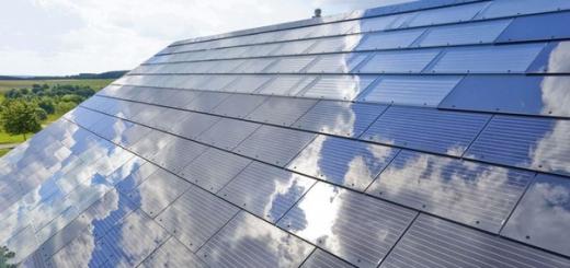 Элон Маск планирует выпускать солнечные крыши