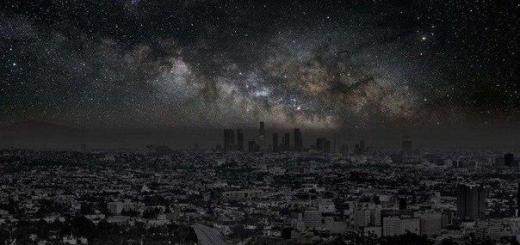 Если обесточить мегаполисы, то небо над ними выглядело бы так: