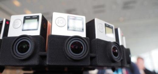 GoPro Odyssey — панорамная стереокамера за $15000