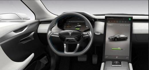 Китайцы создали клон электромобиля Tesla.