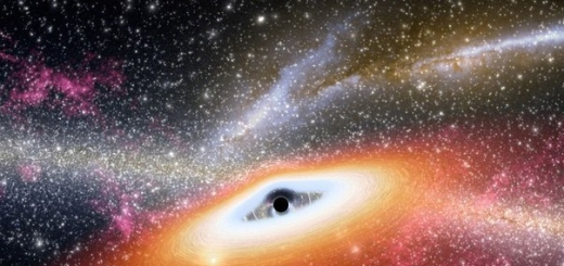 Как темная материя взаимодействует с черными дырами