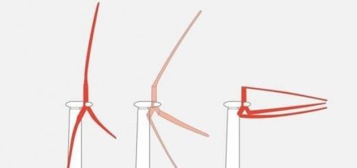 Конструкцию ветряков предлагают изменить для большей производительности