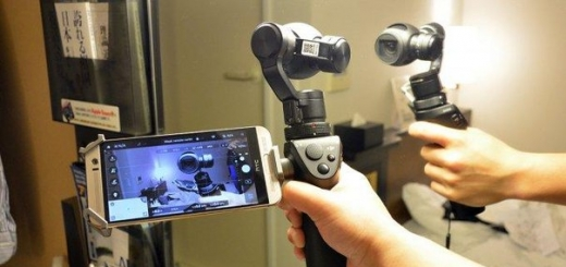 DJI Osmo — компактная 4К-камера с ручным стабилизатором