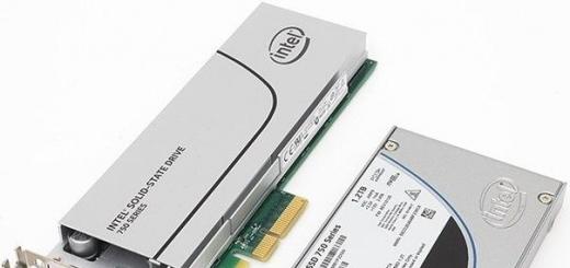 Intel выпустила высокоскоростной потребительский SSD 750 Series