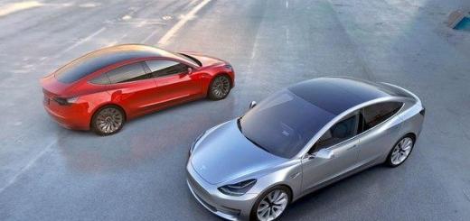 Электромобиль Tesla Model 3 будет продаваться с опциональным режимом быстрого ускорения Ludicrous
