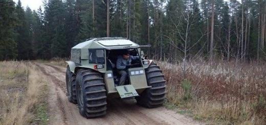 Русские делают лучший вездеход в мире стоимостью 50 тысяч долларов