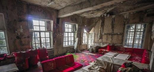 Заброшенный отель на острове Хатидзё, Япония…