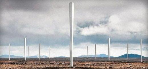 Новое решение в получении электроэнергии из ветра.
