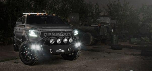 Devolro Diablo based on Toyota Tundra