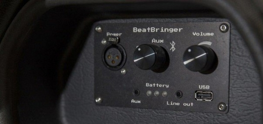 BeatBringer Speaker Backpack — мощная акустическая система в виде рюкзака