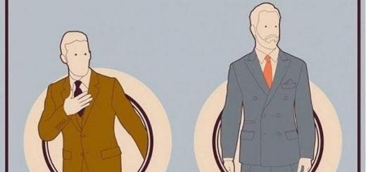 Как носить костюм
