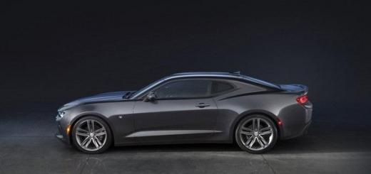 Представлен новый Camaro
