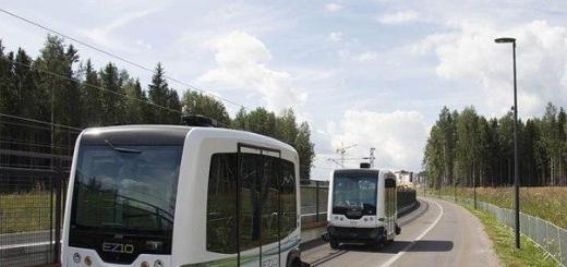 На дороги Нидерландов выезжают беспилотные мини-автобусы