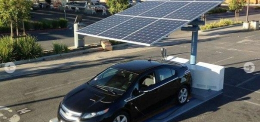 В Сан-Франциско строят бесплатные солнечные зарядные станции для электрокаров