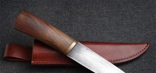 Правильная заточка ножей.