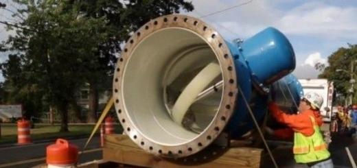 Водопровод, вырабатывающий электроэнергию