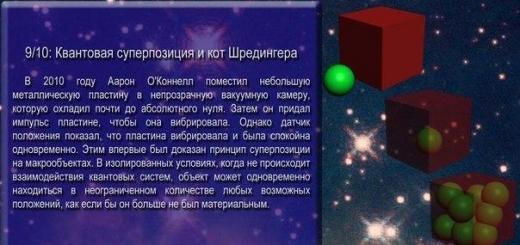 Квантовая физика: 10 невероятных фактов