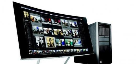 HP анонсировала мониторы с 4K и 5K разрешением, а также «изогнутую» модель