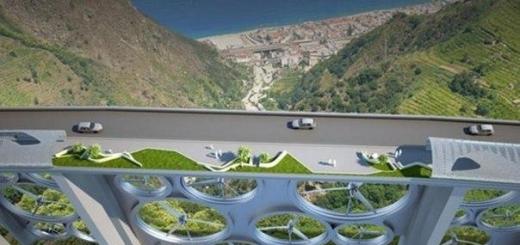 В Италии появиться мост, генерирующий солнечную и ветряную энергию
