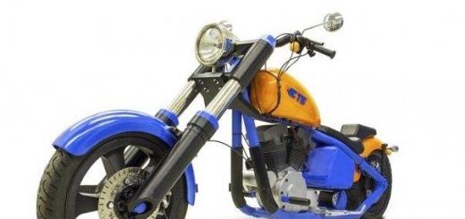 На 3D-принтере напечатали полностью рабочий мотоцикл