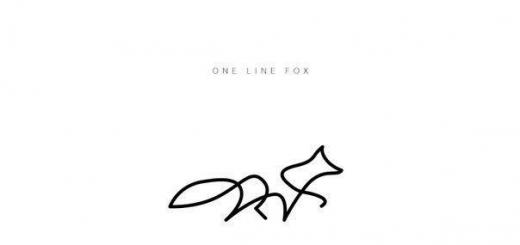 Животные, нарисованные одной линией. Идея для тех, кто хочет сменить подпись.