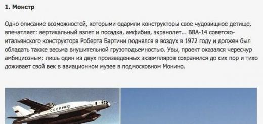 10 странных самолетов