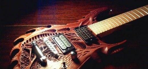 Самодельные резные гитары