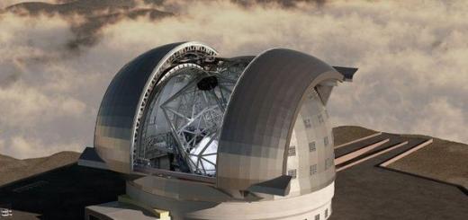Размер самого большого телескопа в мире будет впечатляющим